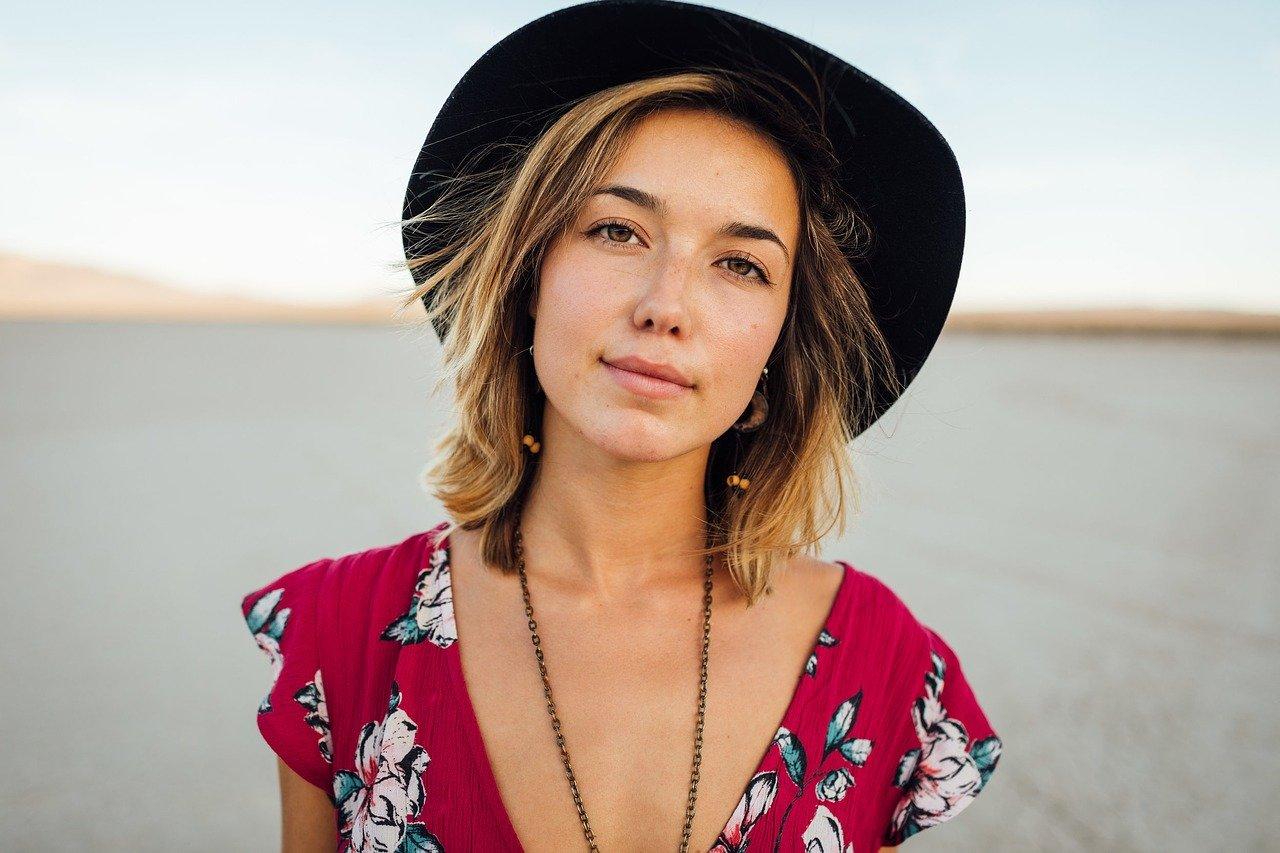 beautiful European girl