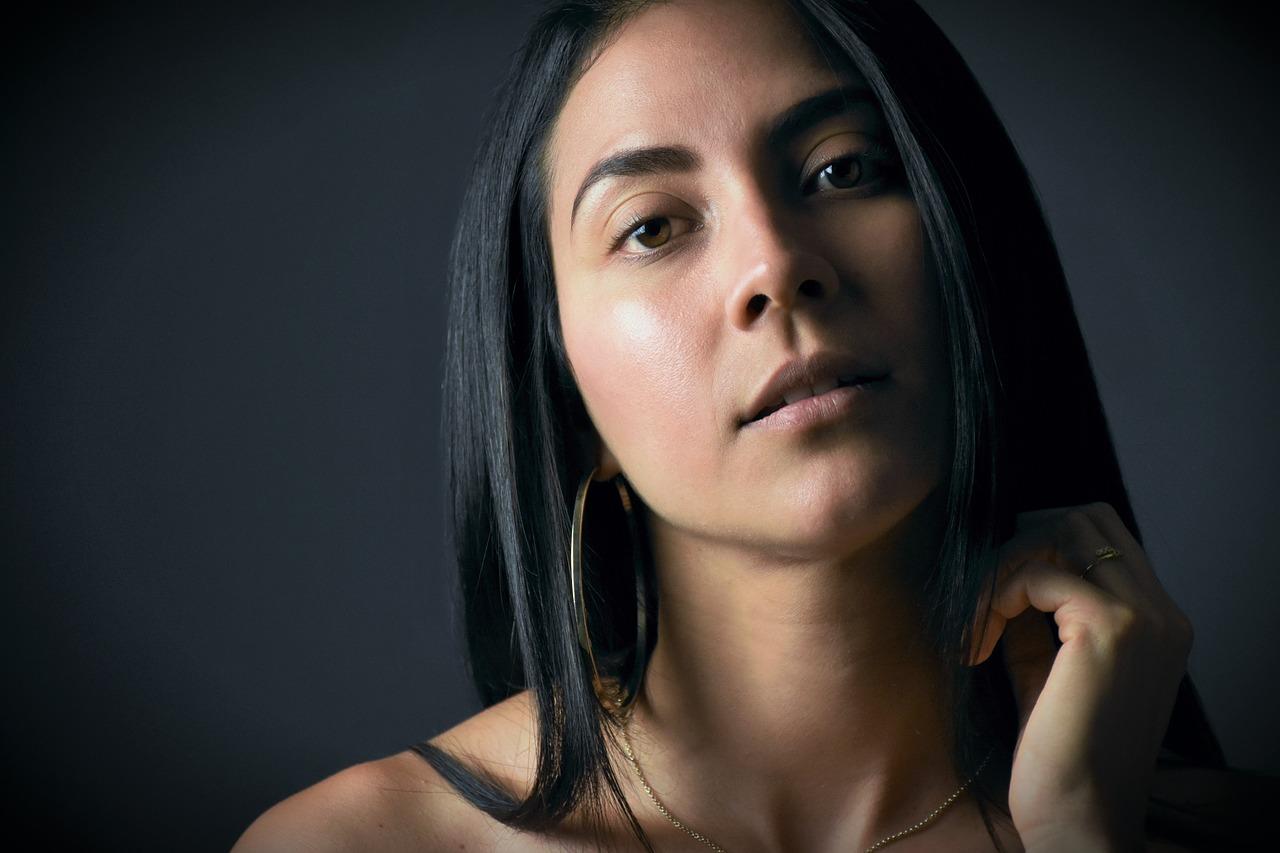 model Colombian girl
