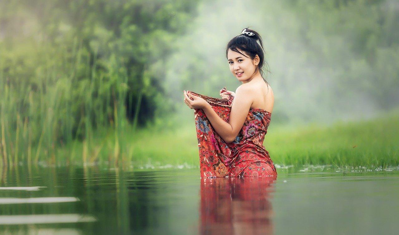 hot Cambodian woman
